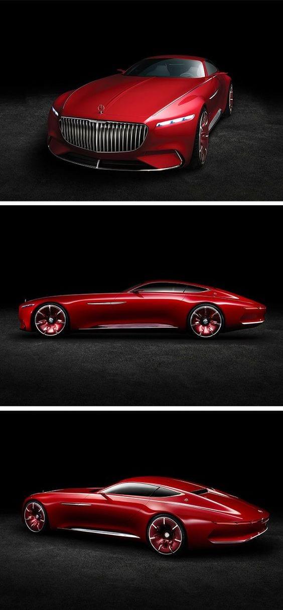 Mercedes-Maybach 6 concept car