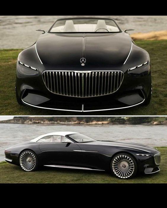 Mercedes Maybach Vision 6 concept car