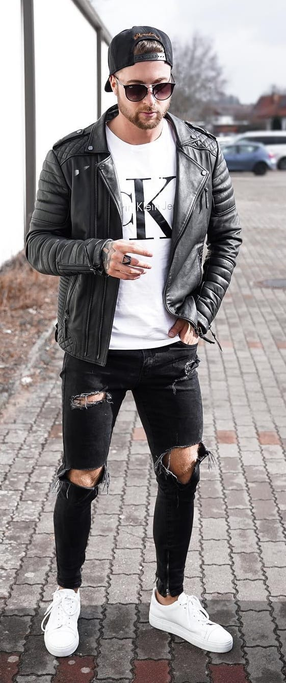 Stunning Biker Jackets For Guys