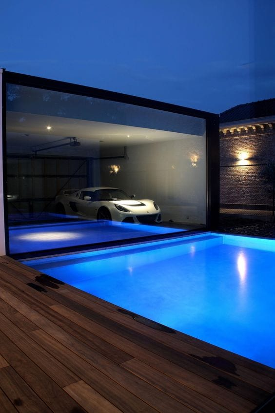 Garage By The Pool