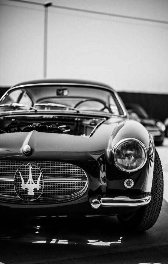 maserati vintage car