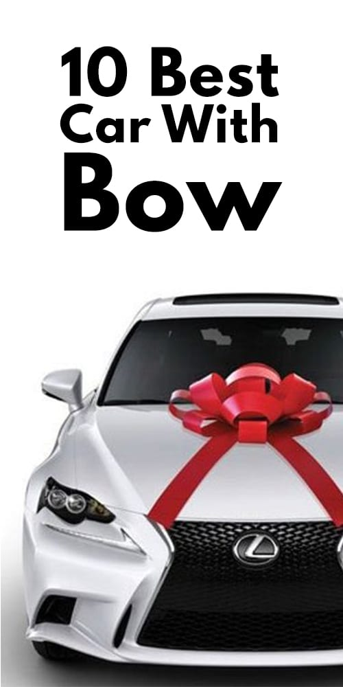 10 Best Car With Bow Photos
