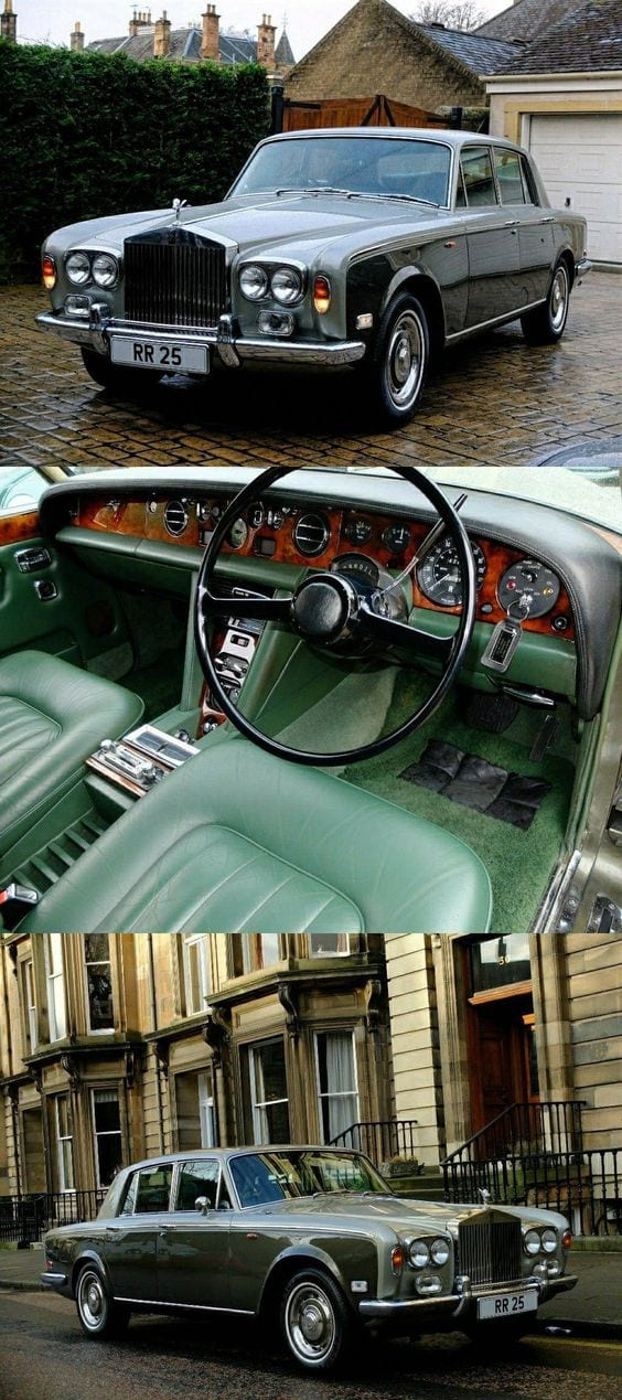 1970 Rolls Royce Silver Shadow INTERIOR
