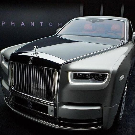2018 Rolls Royce Phantom.