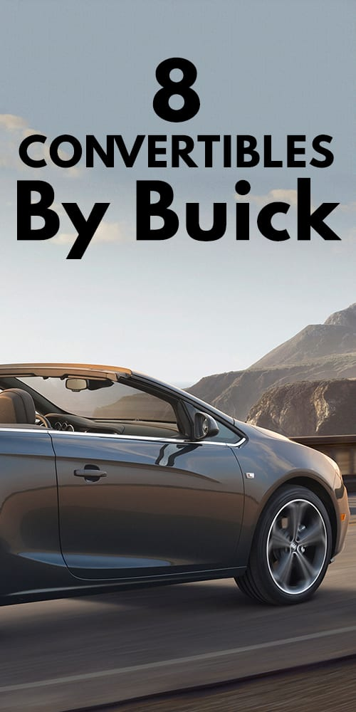 8 Convertibles By Buick!
