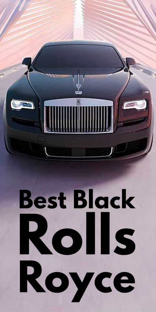 Black Rolls Royce Photos You Will Fall In Love!
