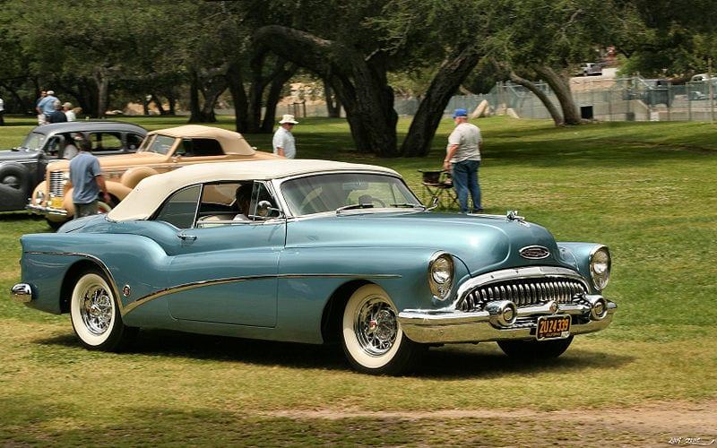 Buick Skylark Blue