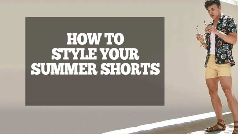 Floral shirt with shorts outfit ideas