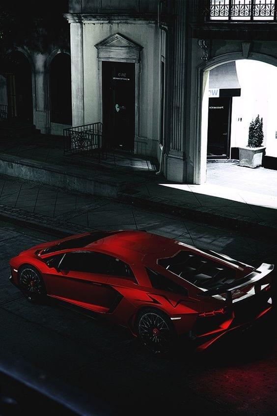 Lamborghini Satin chrome red