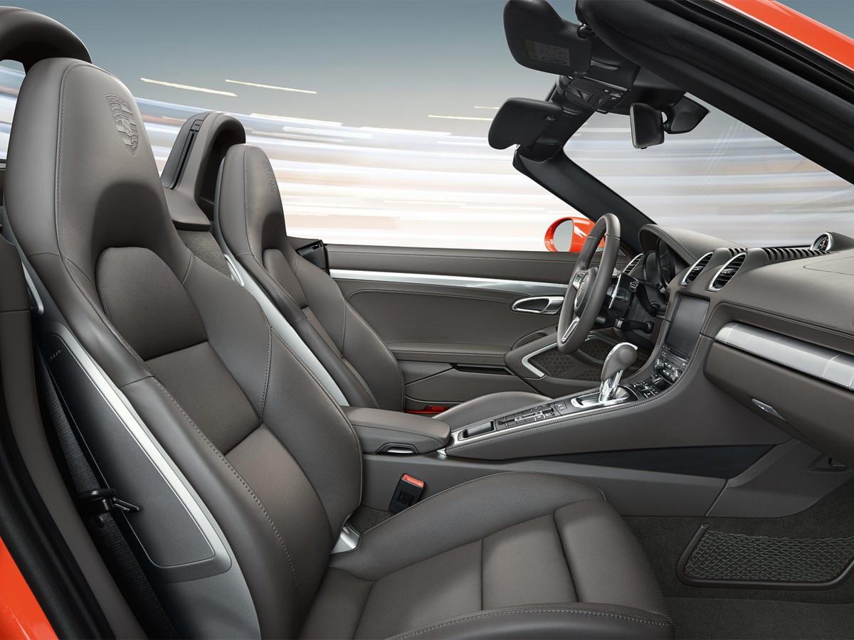 Luxurious Porsche Interior