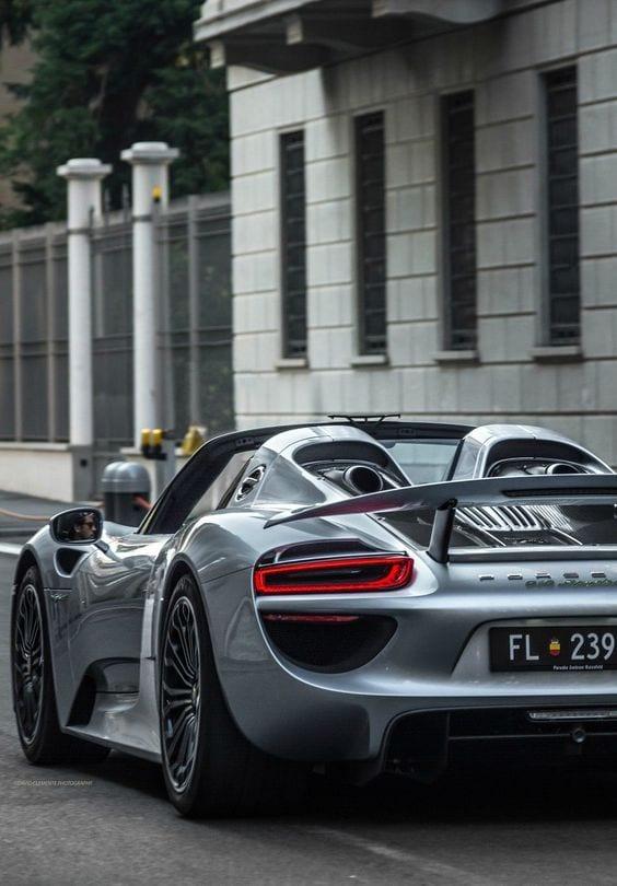 Porsche 918 spyder SPORTS