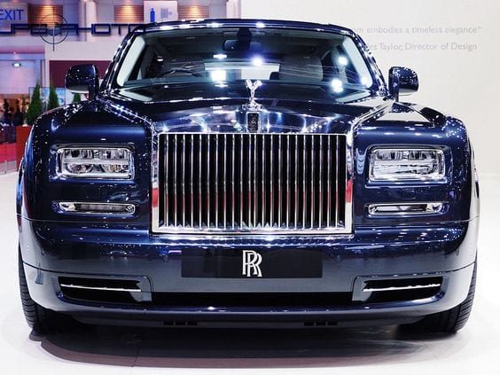 ROLLS ROYCE BLUE CHROME