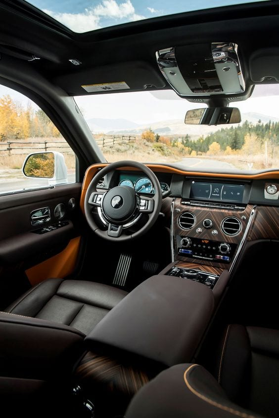 ROLLS ROYCE WOOD INTERIOR