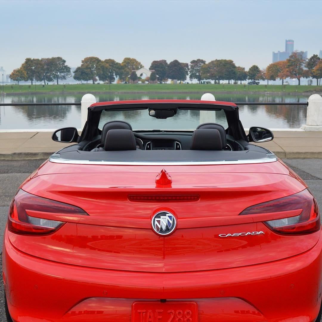 Red Buick Cascada Convertible