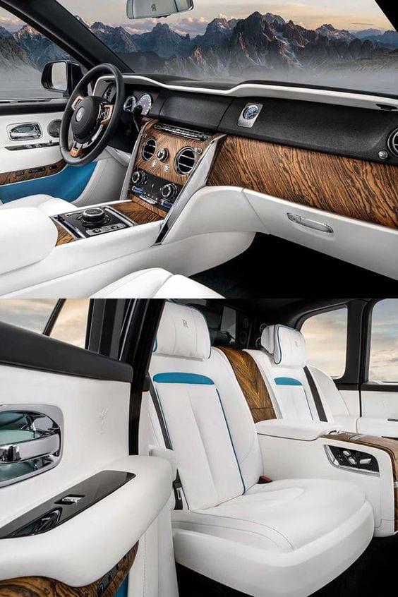 Rolls Royce Cullinan interior IMAGE
