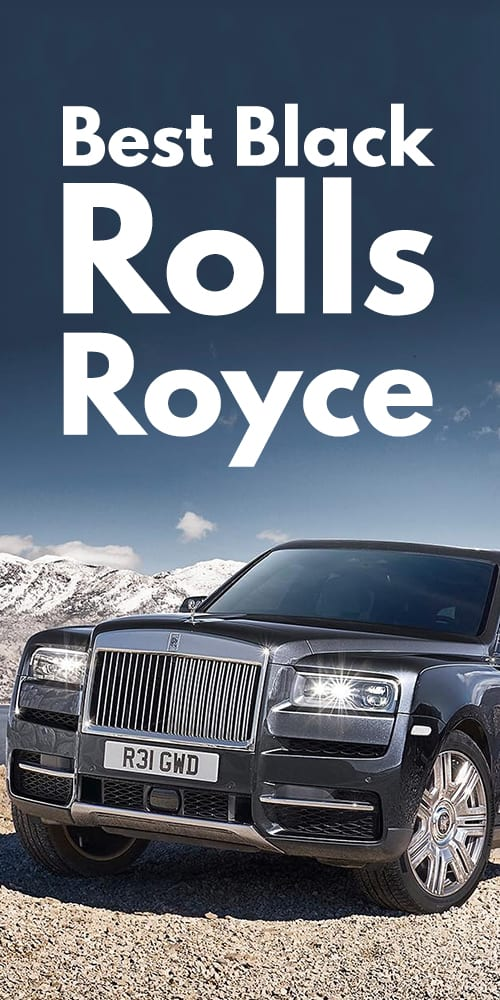 Stunning Black Rolls Royce Photos You Will Fall In Love!.