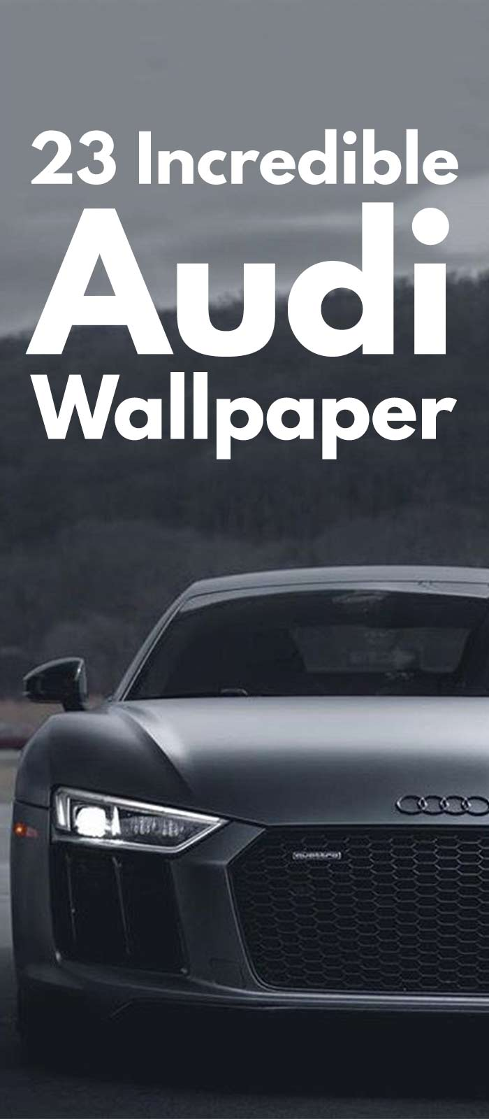 23 Incredible Audi Cars Wallpaper Images.