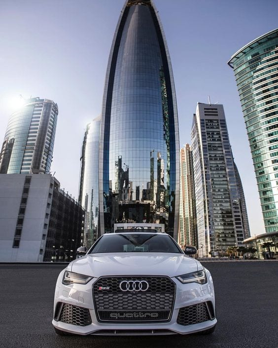 AUDI WHITE WALLPAPER CITY