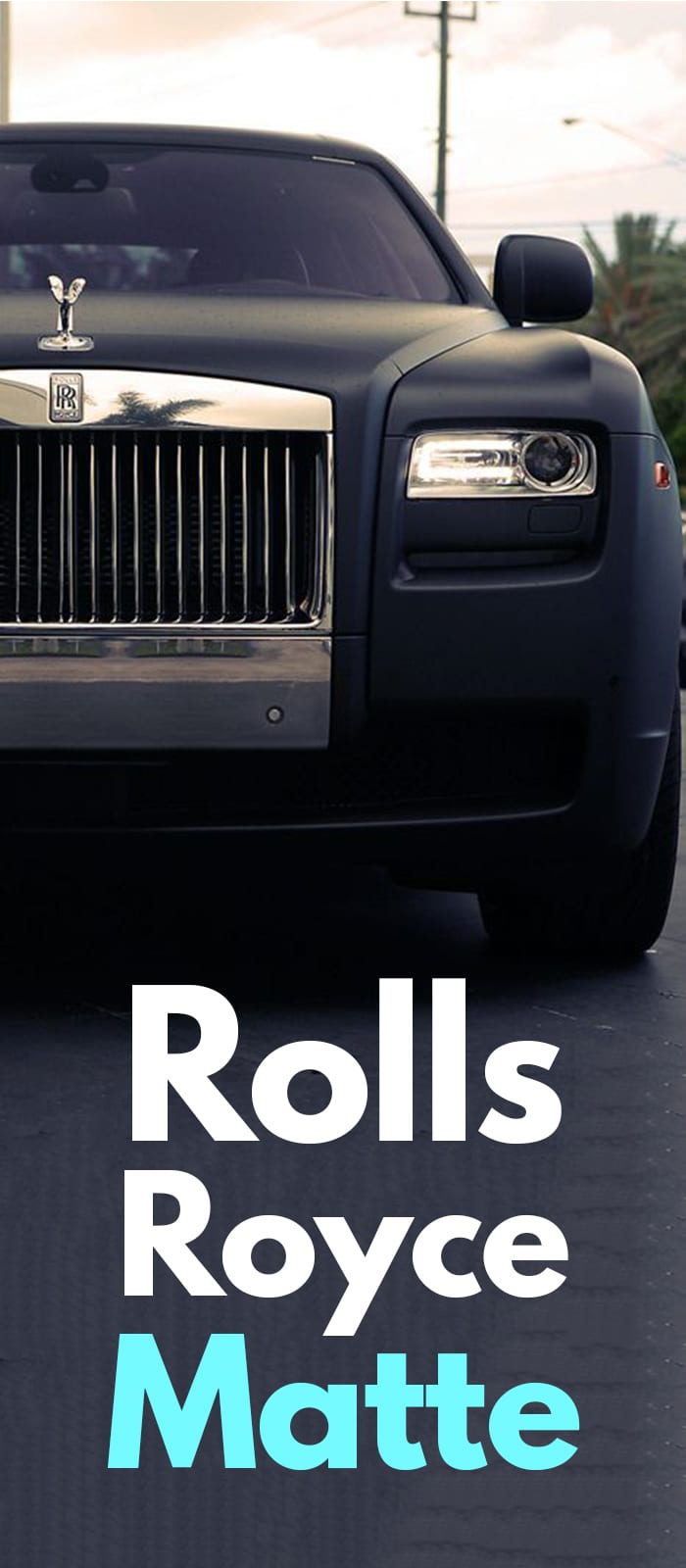 Matte Black Rolls-Royce Ghost!