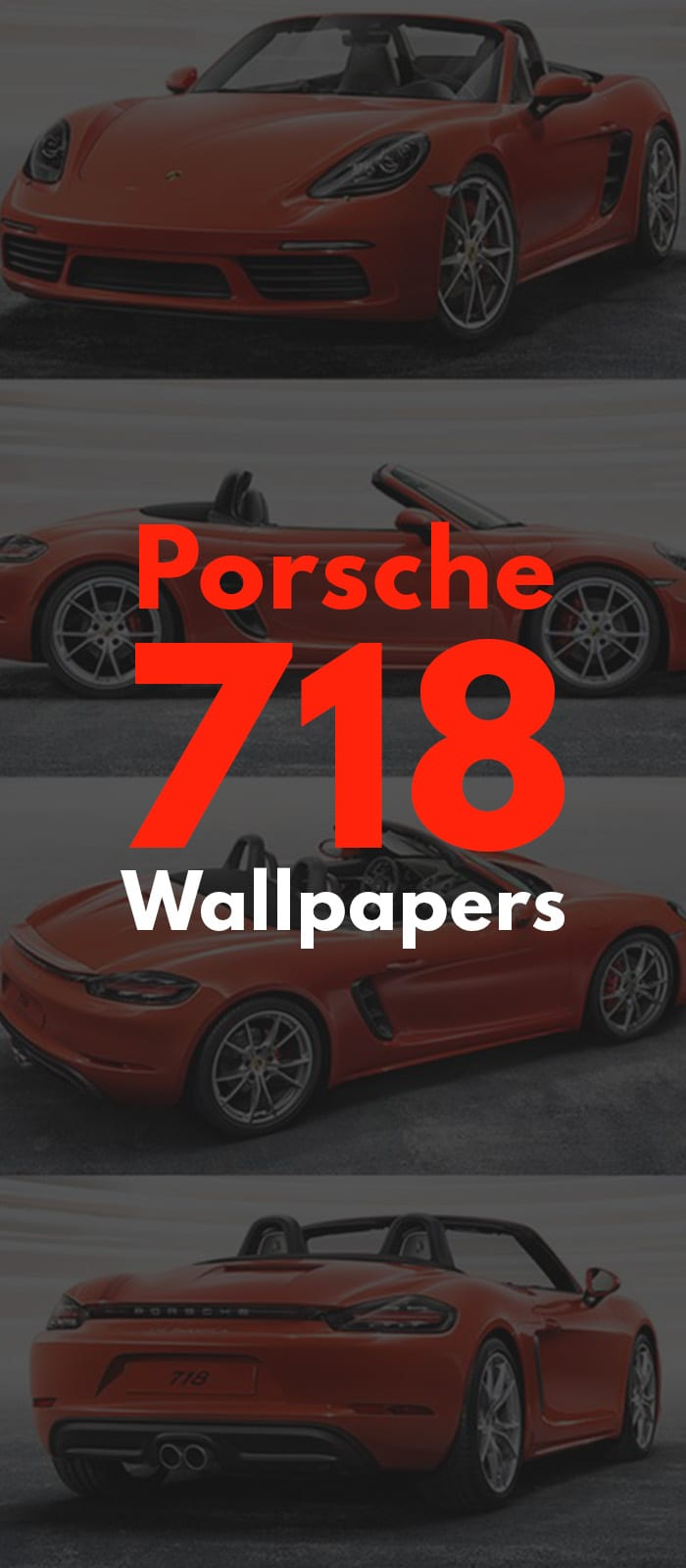 Porsche 718 Boxster IMAGES!