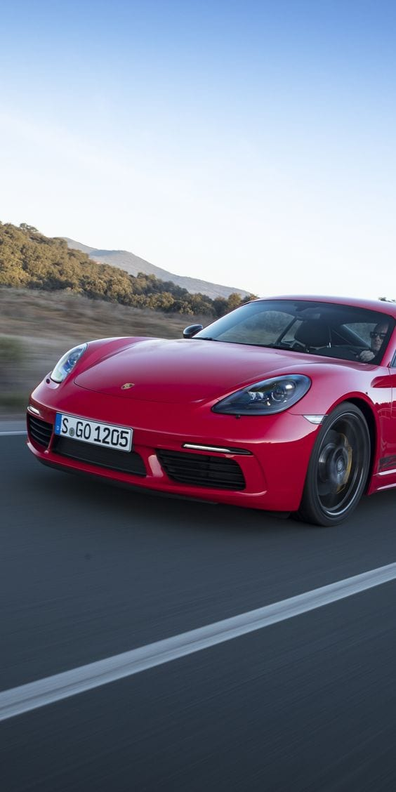 Porsche 718 Cayman RED
