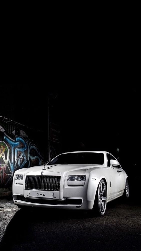 ROLLS ROYCE WHITE WALLPAPER