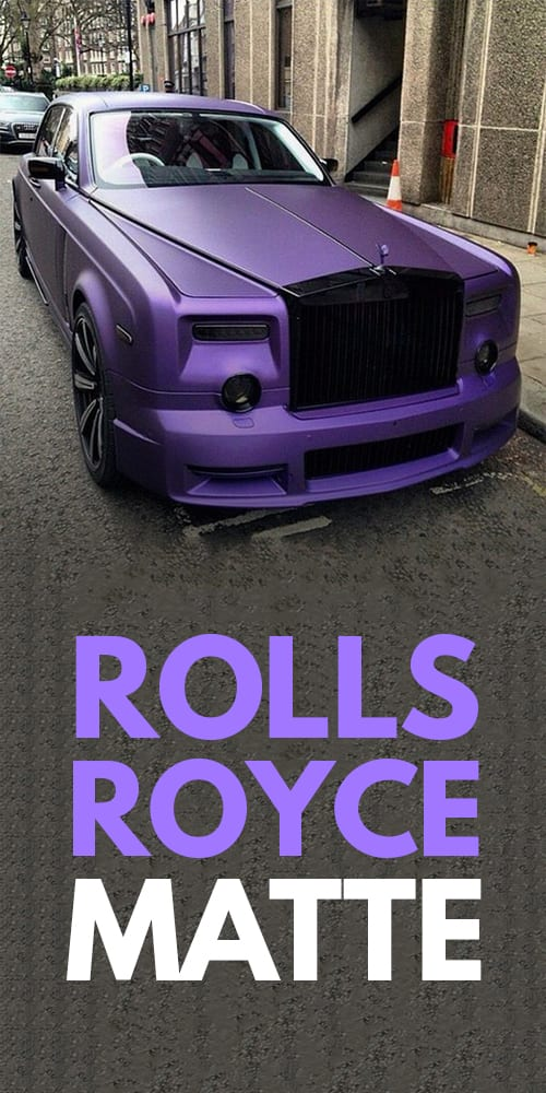 Rolls-Royce Luxury matte car!