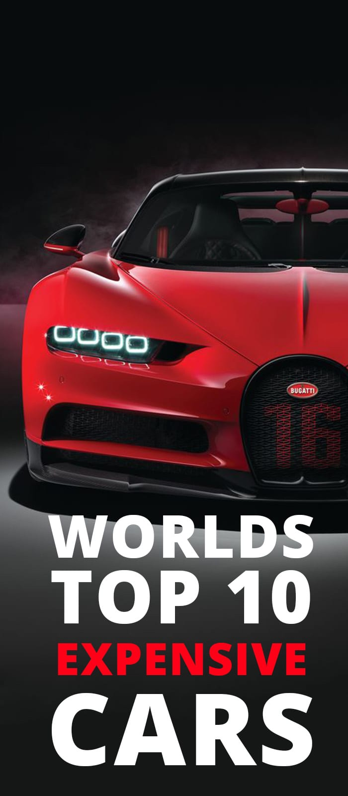 WORLDS TOP 10 EXPENSIVE CARS.