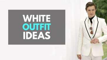 White suit outfit ideas for men