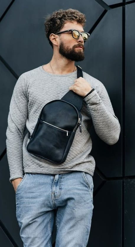 Big sling bag ideas for men