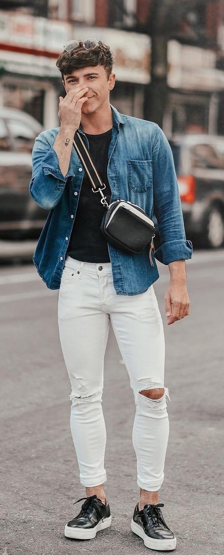 Men' sling bag fashion trend 2019