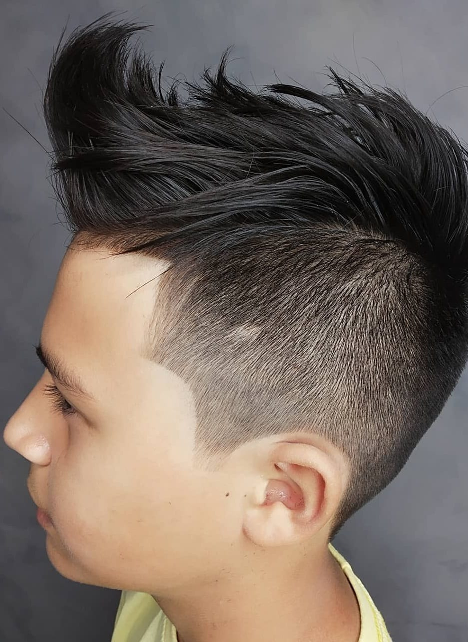 Mohawk-Kids Haircut for Boys