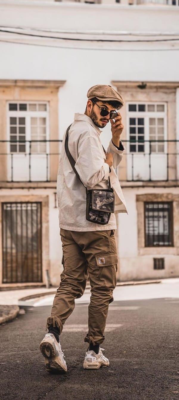 Side bag For Men's Street style