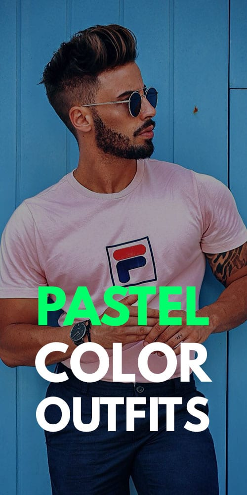 Eye-catching Pastel Outfit Ideas for Men