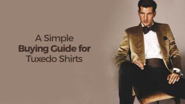 A Simple Buying Guide for Tuxedo Shirts