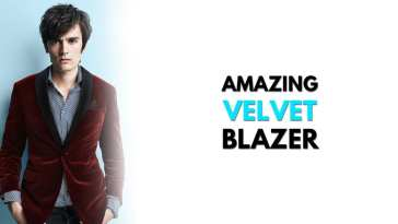 Velvet Blazer Outfit Ideas for Men