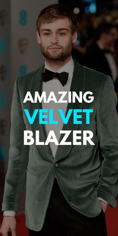 Velvet Blazer Outfits for Men