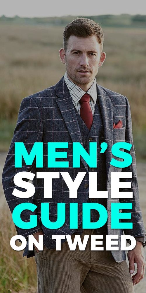 Tweed Blazer Outfit for Men
