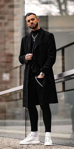 Black Overcoat- A must have Winter Essential