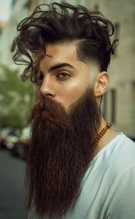Curly hair Fade Haircut For Men 2020