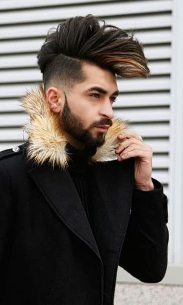 Short Side Long Top Hair Looks for Men to try this New Year