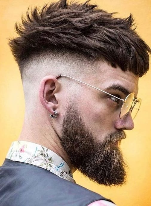 Undercut Haircut for Men to try this New Year
