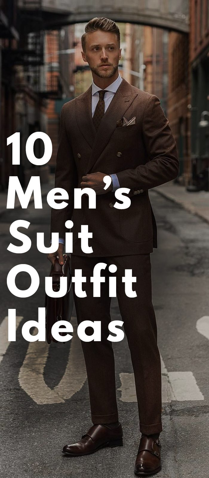Men's Suit Styling Ideas
