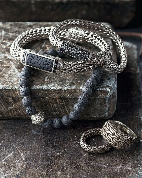 Classic-Silver-Bracelets-these-can-be-styled-with-suits-too-1