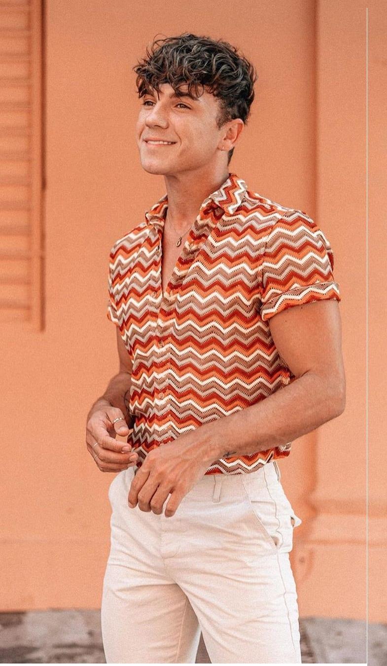 Stylish Striped Shirt Outfit Ideas