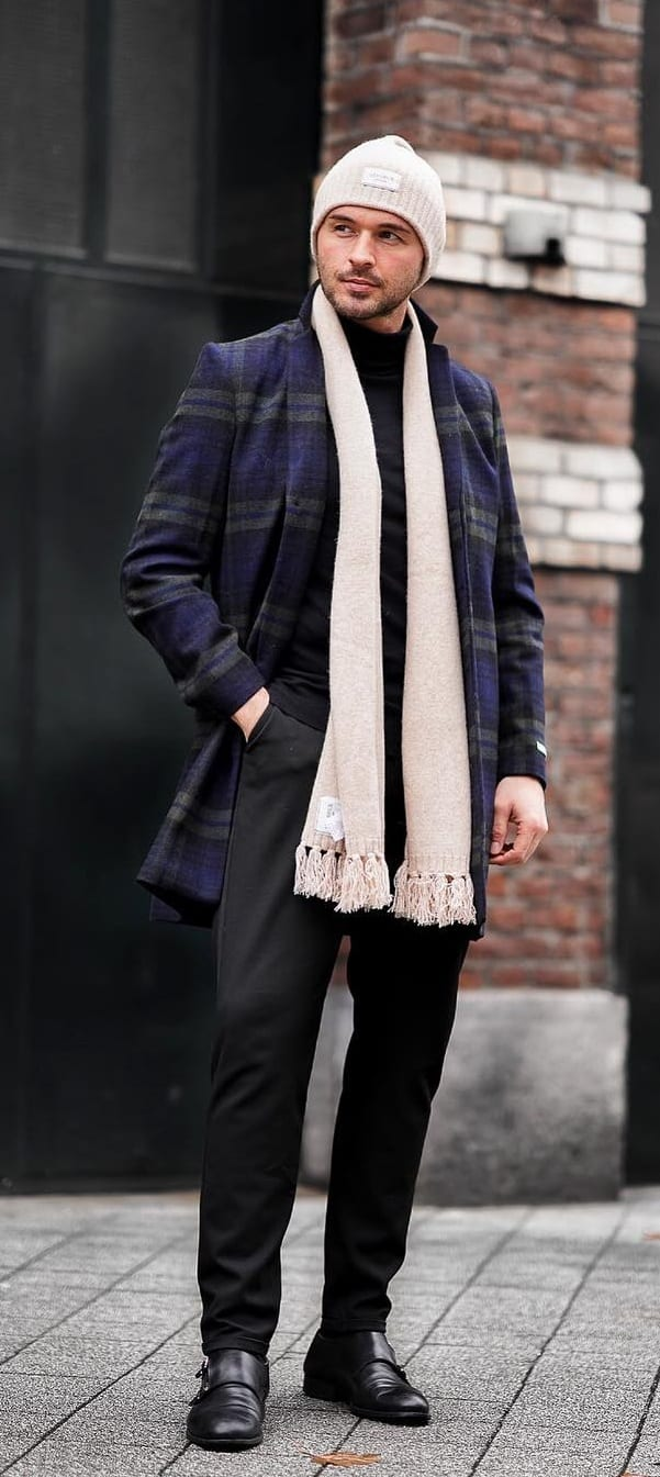Winter Style Scarves for Men