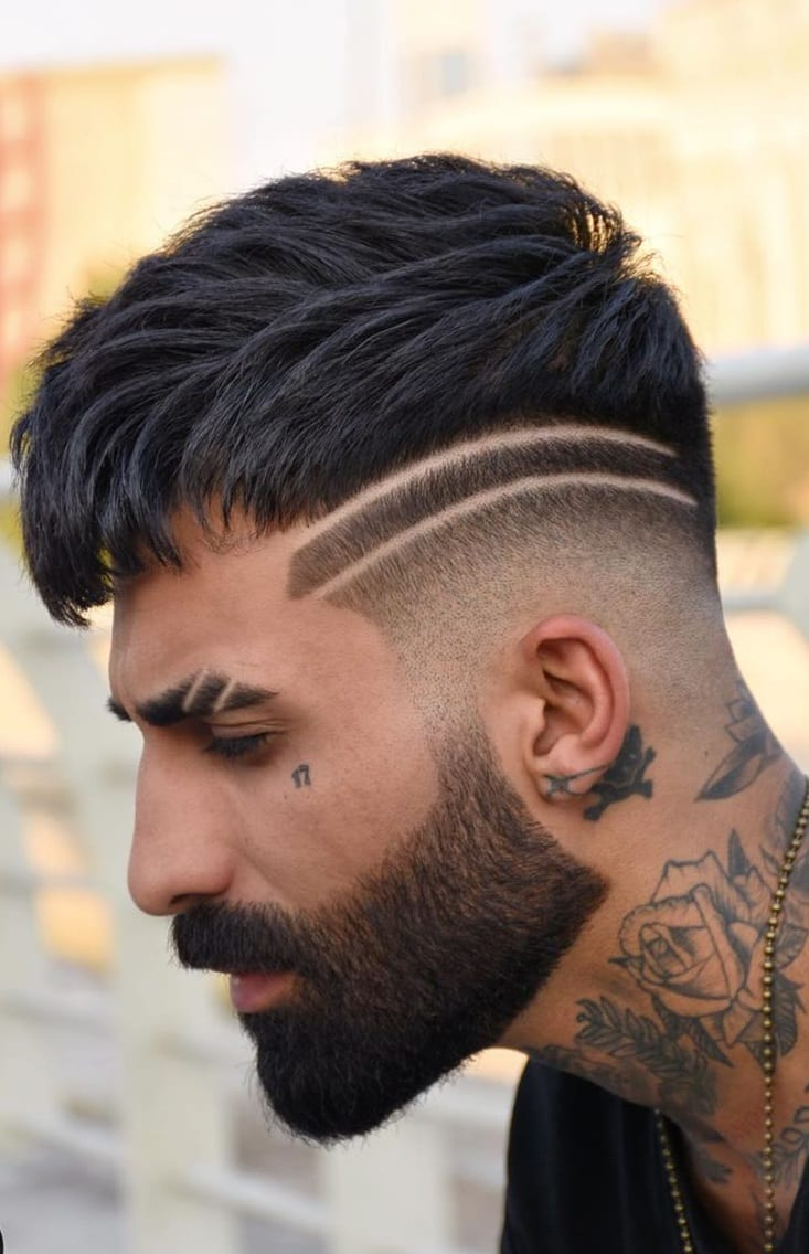 Dope Fade Haircut for Men 2020