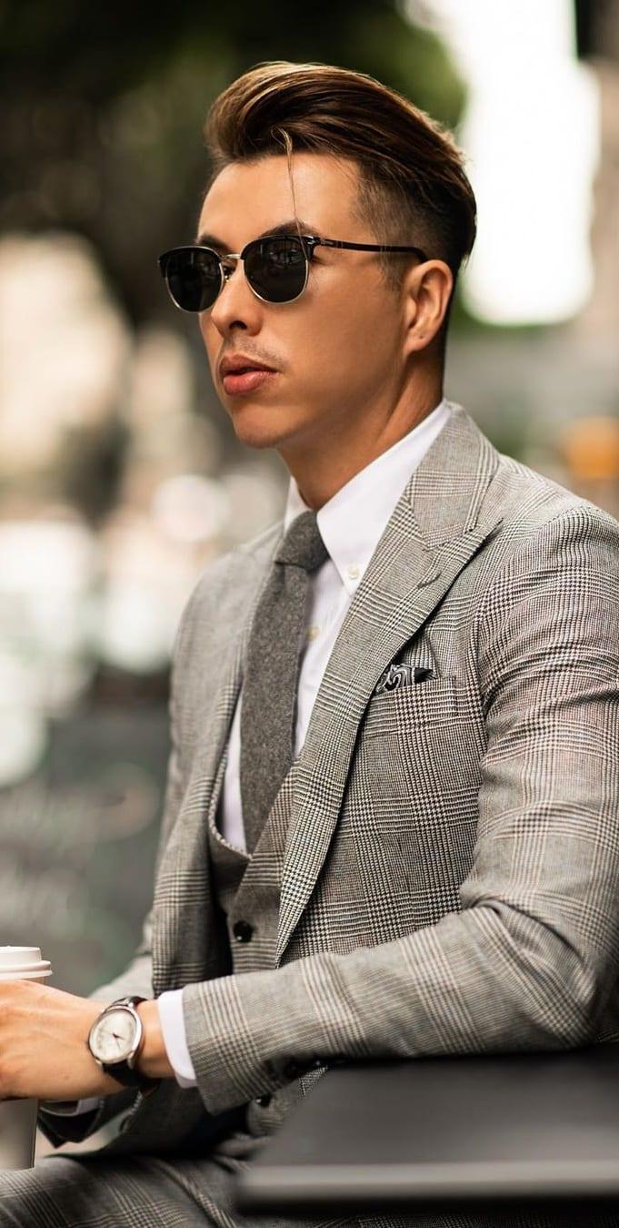 Mens Clubmaster Sunglasses for Men