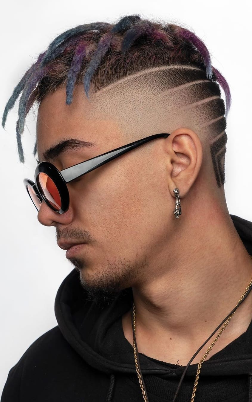 Skin Fade Haircut with Dreadlocks to rock in 2020