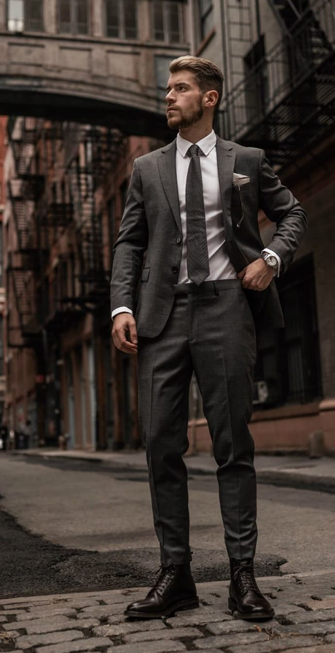 Classy Formal Suit Outfits for Men